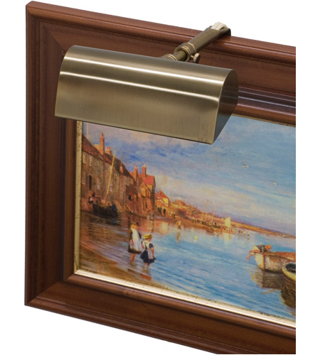 House of Troy T4-56 Classic Traditional 15 watt 4 inch Statuary Bronze Picture Light Wall Light photo
