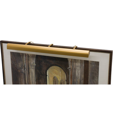 House of Troy T42-1 Classic Traditional 240 watt 42 inch Gold Picture Light Wall Light photo