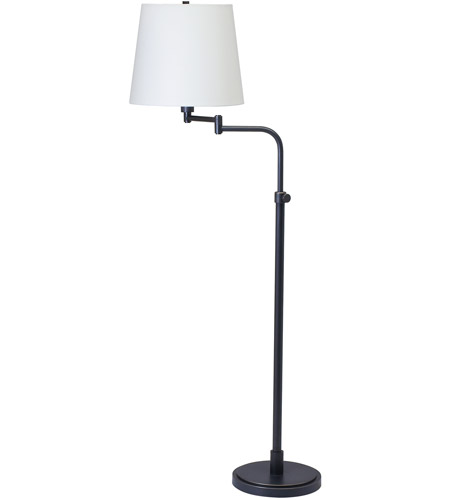 House of Troy TH700-OB Townhouse 50 inch 100 watt Oil Rubbed Bronze Floor Lamp Portable Light photo