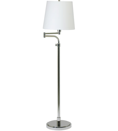 House of Troy Townhouse 1 Light Floor Lamp in Polished Nickel TH700-PN photo