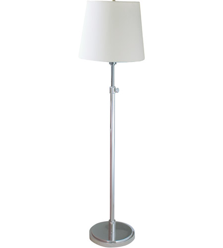 House of Troy Townhouse 1 Light Floor Lamp in Polished Nickel TH701-PN photo