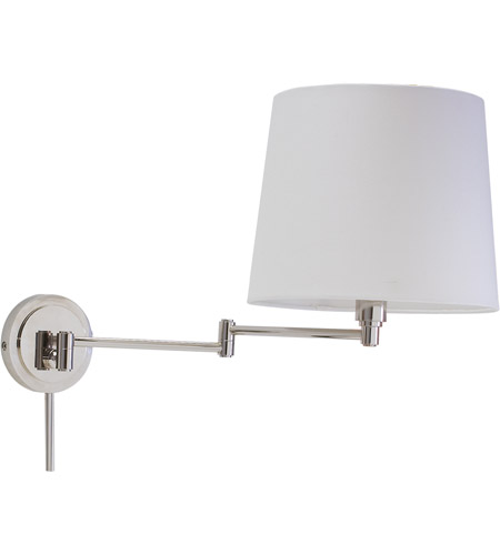 House of Troy TH725-PN Townhouse 26 inch 100 watt Polished Nickel Wall Swing Arm Wall Light photo