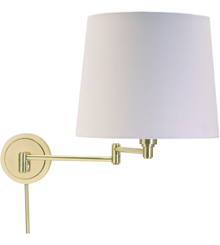 House of Troy TH725-RB Townhouse 26 inch 100 watt Raw Brass Wall Swing Arm Wall Light photo