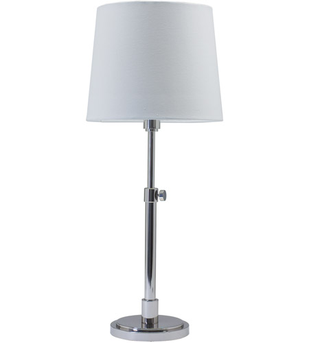 House of Troy TH750-PN Townhouse 23 inch 100 watt Polished Nickel Table Lamp Portable Light photo