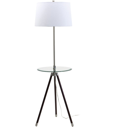 House of Troy TR202-SN Tripod 46 inch 150 watt Satin Nickel Floor Lamp Portable Light photo