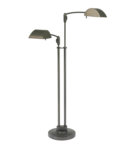 House of Troy Vision 2 Light Floor Lamp in Oil Rubbed Bronze V500-2-OB photo