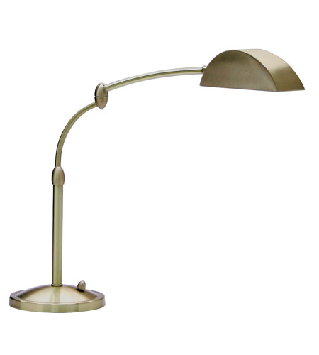 House of Troy Vision 1 Light Table Lamp in Antique Brass V501-AB photo