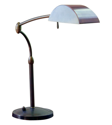 House of Troy Vision 1 Light Table Lamp in Oil Rubbed Bronze V501-OB photo