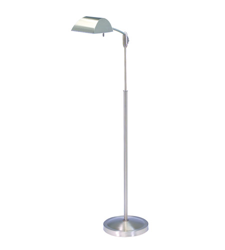 House of Troy Vision 1 Light Floor Lamp in Satin Nickel V503-SN photo