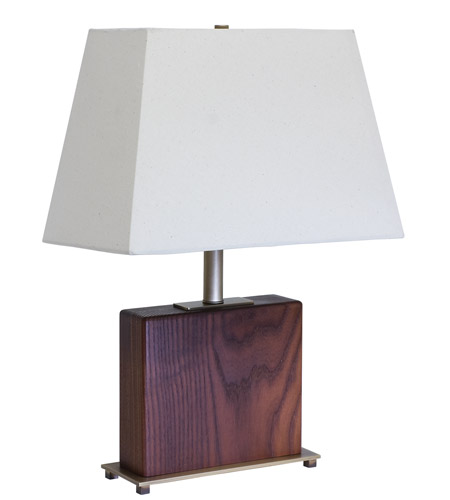 House of Troy VT Hardwood 1 Light Table Lamp in Antique Brass VH250A-AB photo