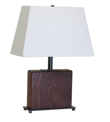 House of Troy VT Hardwood 1 Light Table Lamp in Oil Rubbed Bronze VH250A-OB photo