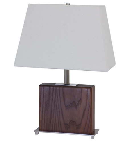 House of Troy VT Hardwood 1 Light Table Lamp in Satin Nickel VH250A-SN photo