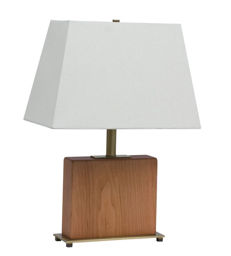 House of Troy VT Hardwood 1 Light Table Lamp in Antique Brass VH250C-AB photo