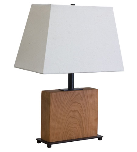 House of Troy VT Hardwood 1 Light Table Lamp in Oil Rubbed Bronze VH250C-OB photo