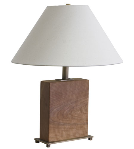 House of Troy VT Hardwood 1 Light Table Lamp in Antique Brass VH252C-AB photo