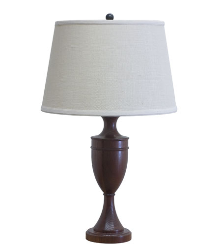 House of Troy VT Hardwood 1 Light Table Lamp in Carmel Ash VH350-A photo