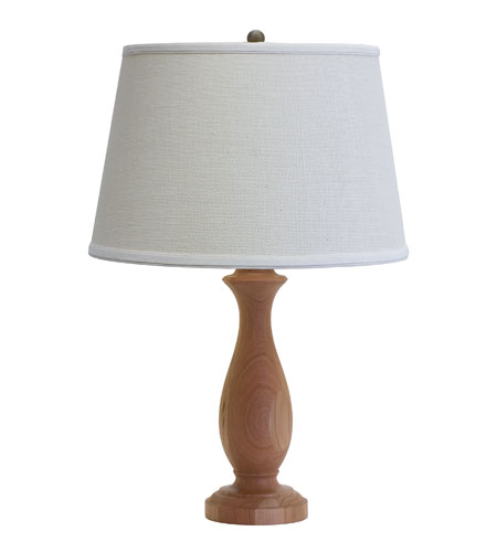 House of Troy VT Hardwood 1 Light Table Lamp in Cherry VH352-C photo