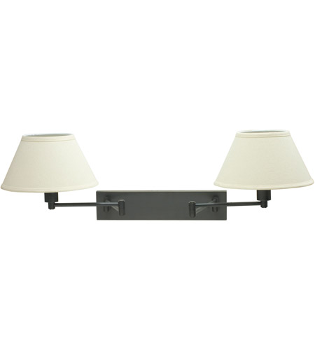 House of Troy WS14-2-91 Home/Office 19 inch 100 watt Oil Rubbed Bronze Wall Swing Arm Wall Light in 2, 11 photo