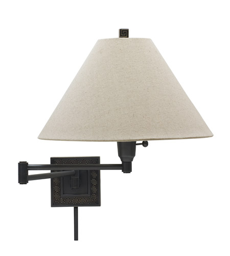 House of Troy Decorative Wall 1 Light Swing-Arm Wall Lamp in Oil Rubbed Bronze WS762-OB photo