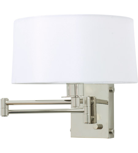 House of Troy WS776-PN Signature 1 Light 12 inch Polished Nickel Wall Lamp Wall Light photo