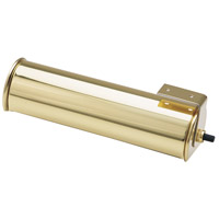 House of Troy Advent 1 Light Cabinet Light in Polished Brass AC7-61