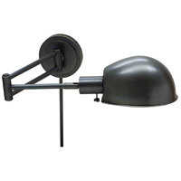House of Troy Addison 1 Light Swing-Arm Wall Lamp in Oil Rubbed Bronze AD425-OB