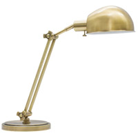 Addison 24 inch 75 watt Antique Brass Table Lamp Portable Light
