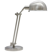 House of Troy AD450-SN Addison 24 inch 75 watt Satin Nickel Table Lamp Portable Light