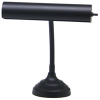 House of Troy AP10-20-7 Advent 12 inch 40 watt Black Piano Lamp Portable Light in 11.5