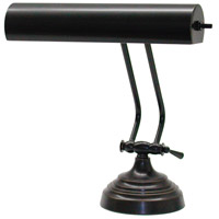 House of Troy AP10-21-91 Advent 11 inch 40 watt Oil Rubbed Bronze Piano Lamp Portable Light in 10.5