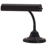 House of Troy Advent 1 Light Piano Lamp in Black AP10-25-7