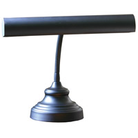 House of Troy AP14-40-7 Advent 13 inch 40 watt Black Piano Lamp Portable Light in 12.5
