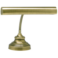 House of Troy AP14-40-71 Advent 13 inch 40 watt Antique Brass Piano Lamp Portable Light in 12.5
