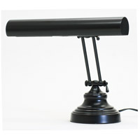 House of Troy Advent 2 Light Piano Lamp in Black AP14-41-7