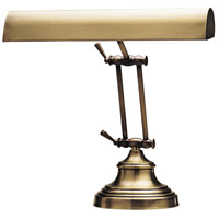 Advent 12 inch 40 watt Antique Brass Piano Lamp Portable Light