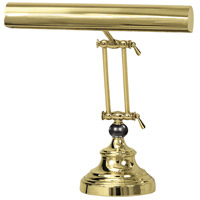 House of Troy AP14-42-61 Advent 13 inch 40 watt Polished Brass Piano Lamp Portable Light