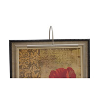 House of Troy Advent 2 Light Picture Light in Satin Nickel APH16-52 photo thumbnail