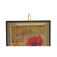 House of Troy Advent 2 Light Picture Light in Polished Brass APH16-61 photo thumbnail