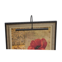 House of Troy Advent 2 Light Picture Light in Black APH16-7 photo thumbnail