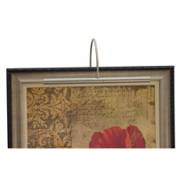 House of Troy Advent 2 Light Picture Light in Satin Nickel APR16-52 photo thumbnail