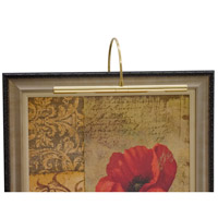 House of Troy Advent 2 Light Picture Light in Polished Brass APR16-61 photo thumbnail