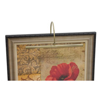 House of Troy APR16-71 Advent 30 watt 16 inch Antique Brass Picture Light Wall Light photo thumbnail
