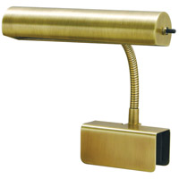 Bed Lamp 9 inch 40 watt Antique Brass Task Light Portable Light
