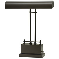 House of Troy BPLED200-81 Piano and Desk 14 inch 3.2 watt Mahogany Bronze Piano Lamp Portable Light