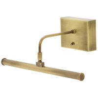 House of Troy BSLED12-71 Slim-line 3.2 watt 13 inch Antique Brass Picture Light Wall Light, Battery Operated