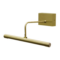 House of Troy Slim-line Battery Powered LED Picture Light in Satin Brass BSBattery Powered LED14-51