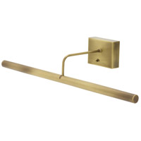House of Troy Slim-line LED Picture Light in Antique Brass BSLED24-71