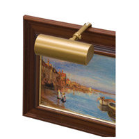 Classic Contemporary 15 watt 5 inch Gold Picture Light Wall Light