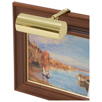 House of Troy Classic Contemporary 1 Light Picture Light in Polished Brass C5-61 photo thumbnail