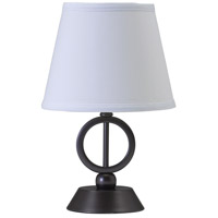 House of Troy Coach 1 Light Table Lamp in Oil Rubbed Bronze CH875-OB